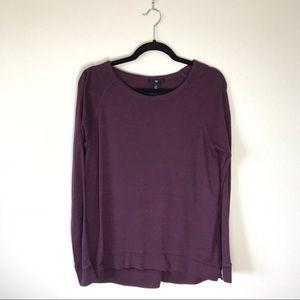 Gap Long Sleeve Top Purple